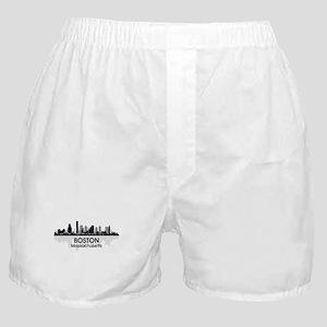 Boston Skyline Boxer Shorts