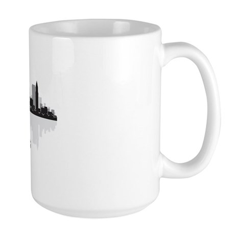 Boston Skyline Large Mug