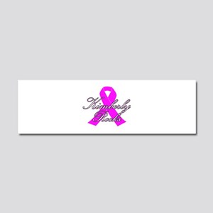Mrs Kimberly to be Car Magnet 10 x 3