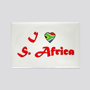 South Africa Goodies Rectangle Magnet (10 pack)