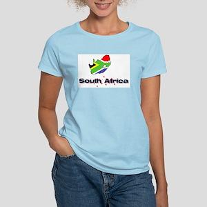 South Africa Goodies Women's Pink T-Shirt