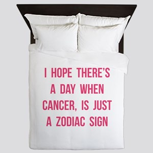 Cancer Hope Queen Duvet
