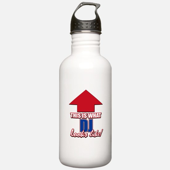 This is what DJ looks like Water Bottle