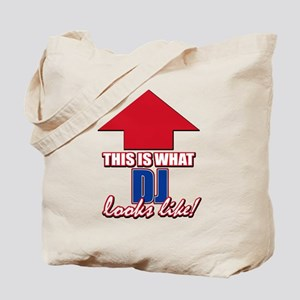 This is what DJ looks like Tote Bag