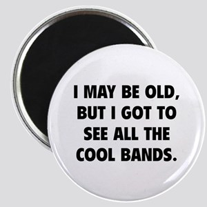 All The Cool Bands Magnet