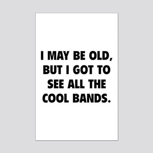 All The Cool Bands Mini Poster Print