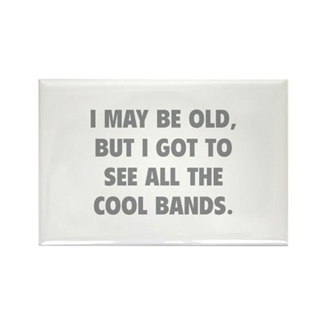 All The Cool Bands Rectangle Magnet (100 pack)