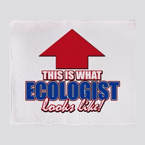 This is what Ecologist looks like Throw Blanket