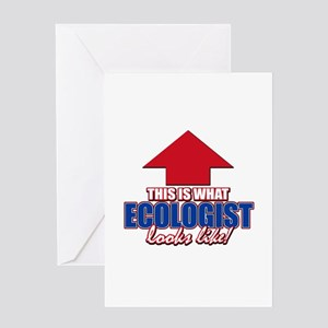 This is what Ecologist looks like Greeting Card