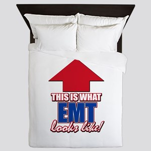This is what EMT looks like Queen Duvet