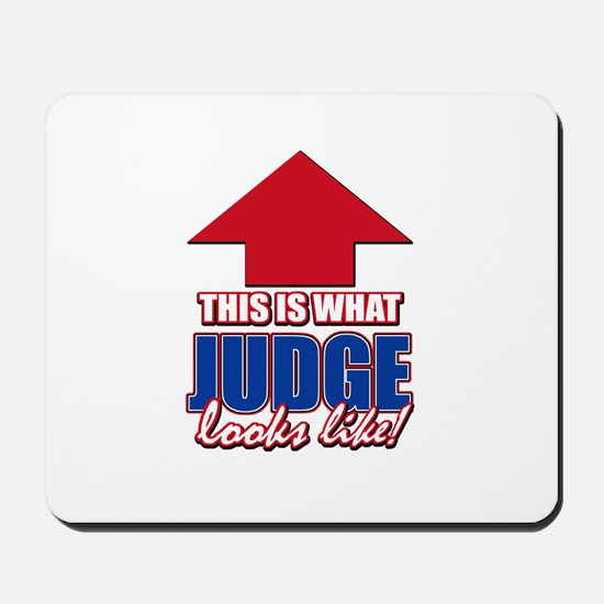 This is what Judge looks like Mousepad