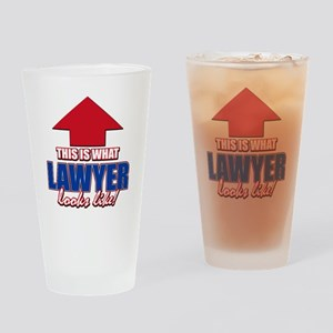 This is what Lawyer looks like Drinking Glass