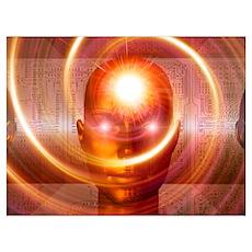 Artificial intelligence, artwork Poster