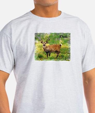 deer in a beautiful setting T-Shirt