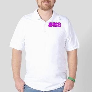 Skater Girl SK8 Golf Shirt