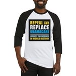 Repeal And Replace Obamacare Baseball Jersey