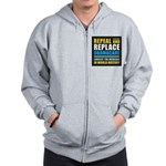 Repeal And Replace Obamacare Zip Hoodie