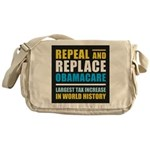 Repeal And Replace Obamacare Messenger Bag