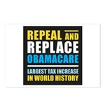 Repeal And Replace Obamacare Postcards (Package of