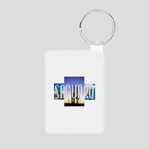 ABH Saguaro Aluminum Photo Keychain