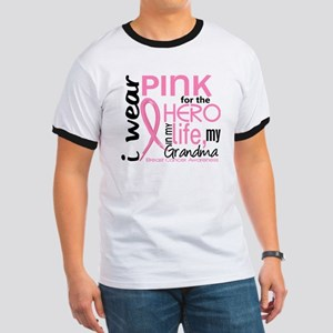 Hero In Life 2 Breast Cancer Ringer T