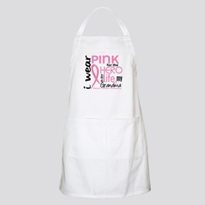 Hero In Life 2 Breast Cancer Apron
