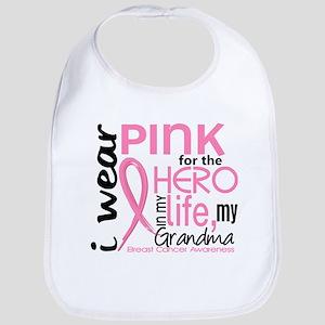 Hero In Life 2 Breast Cancer Bib