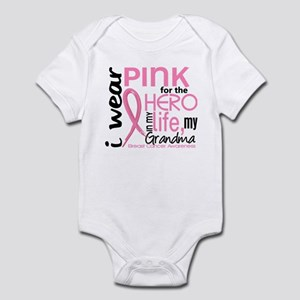 Hero In Life 2 Breast Cancer Infant Bodysuit