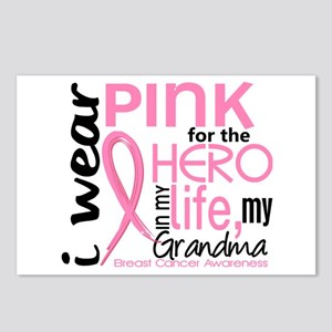 Hero In Life 2 Breast Cancer Postcards (Package of
