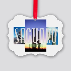 ABH Saguaro Picture Ornament