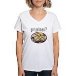 got pelmeni? Women's V-Neck T-Shirt