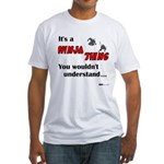 Ninja Thing Fitted T-Shirt