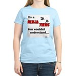 Ninja Thing Women's Pink T-Shirt