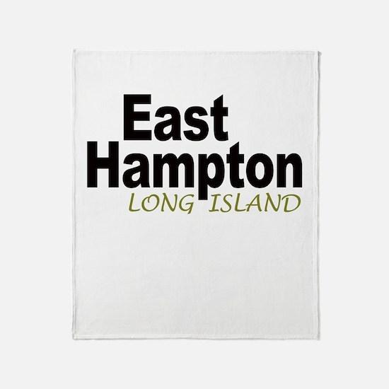 East Hampton LI Throw Blanket
