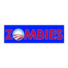 Obama Zombies Wall Decal