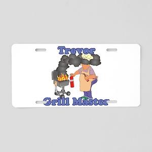 Grill Master Trevor Aluminum License Plate