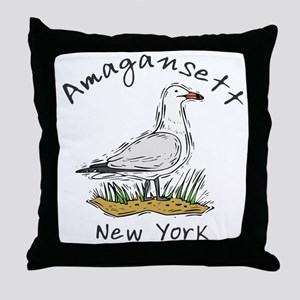 Seagull Amagansett Throw Pillow
