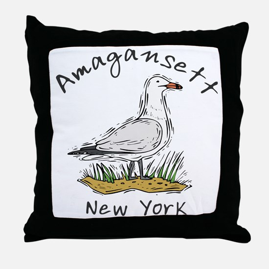 Seagull Amagansett Throw Pillow