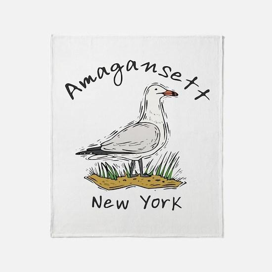 Seagull Amagansett Throw Blanket