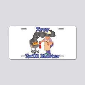 Grill Master Troy Aluminum License Plate