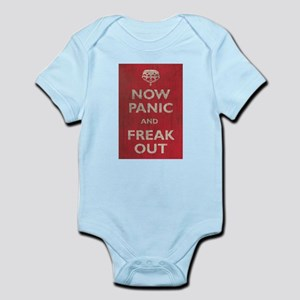 Now Panic And Freak Out Infant Bodysuit