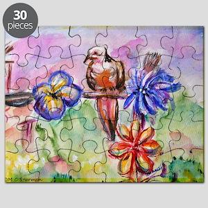 Dove! Desert! Southwest art! Puzzle
