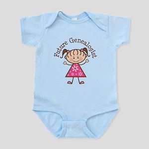 Future Genealogist Girl Infant Bodysuit