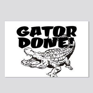 Gator Done! Postcards (Package of 8)