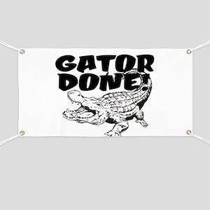 Gator Done! Banner