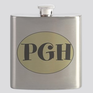 PGH, Pittsburgh, PA, Flask