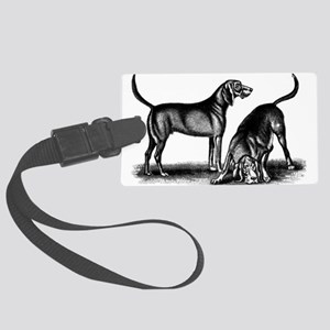 Blood hounds Large Luggage Tag