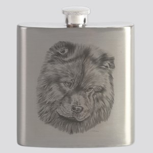 chow chow Flask