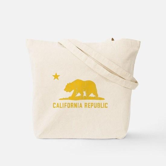 Vintage California Republic Tote Bag
