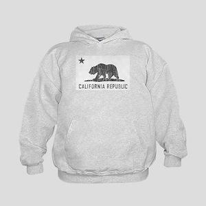 Vintage California Republic Kids Hoodie